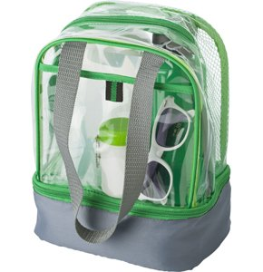 image of CL-931S Clear PVC Lunch Bag